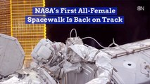 First All-Female Spacewalk Is Finally Happening