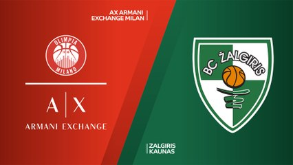EuroLeague 2019-20 Highlights Regular Season Round 2 video: Milan 85-81 Zalgiris