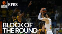 Efes Block of the Round: Jeremy Evans, Khimki Moscow region