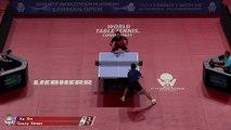 Xu Xin vs Simon Gauzy | 2019 ITTF German Open Highlights (R32)