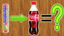 Что будет, если внедрить Mentos в Coca-Cola , а потом его съесть