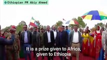 Ethiopia PM Abiy Ahmed 'Humbled' After Winning Nobel Peace Prize