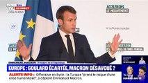 """""""La présidente Van der Leyen m'a dit qu'elle voulait travailler avec Sylvie Goulard"""" explique Emmanuel Macron qui """"a besoin de comprendre"""""""