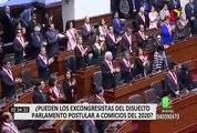 Elecciones congresales 2020: ¿Pueden los excongresistas del disuelto Parlamento postular?