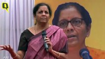 Don't Damn GST, It's a 'Kanoon' of the Land: Sitharaman