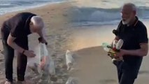 Narendra Modi shared a video of plogging at a beach in Mamallapura | Oneindia Kannada