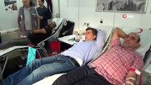 MHP Diyarbakır il teşkilatı 'Barış Pınarı Harekatı' için kan bağışında bulundu