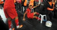 Cenk Tosun attığı gol sonrası korkuttu