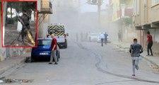Terör örgütü PKK/YPG Nusaybin'deki sivilleri böyle vurdu