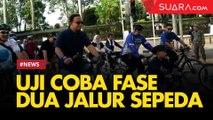 Alasan Keamanan, Pemprov DKI Bikin Jalur Sepeda di Trotoar Sudirman