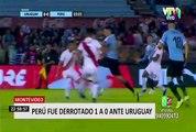 Perú vs. Uruguay: la Bicolor cayó por 1-0 en el Centenario