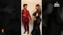 'लाल दुप्पटे वाली' गाने पर थिरके राजकुमार-मौनी