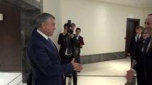 Çavuşoğlu, Rusya Federasyonu Devlet Duması Başkanı Volodin ile görüştü