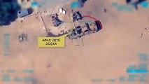 الطيران التركي يدمر سيارة عسكرية للوحدات الكردية شرق الفرات