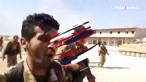 Suriye Milli Ordusu'nun Resulayn'a giriş anları