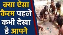 Social Media पर Viral हो रही है बच्चों की Special Carrom खेलते हुए Inspiring Photo | वनइंडिया हिंदी