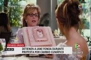 EEUU: Jane Fonda fue arrestada en protestas contra el cambio climático