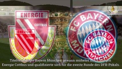Dfb Pokal Nachrichten 2019-2020 | Bayern München vs Energie Cottbus