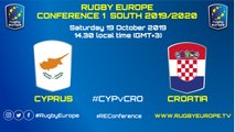 CYPRUS / CROATIA - RUGBY EUROPE CONFERENCE 1 SOUTH 2019/2020