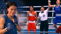 Mary Kom settles for Bronze  Cries foul play Tags PM MODI and Kiran Rijiju