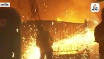 કેલિફોર્નિયાના જંગલોમાં આગ, દર કલાકે 800 એકરનો વિસ્તાર સળગ્યો