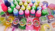 Slime Mix Glitter Combine Colors Water Clay Mixing And Learn Colors Toys For Kids