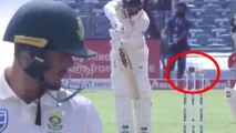 Ashwin Stuns Quinton De Kock with his Miracle Ball