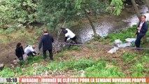Aubagne : 50 m³ de déchets collectés le long de l'Huveaune