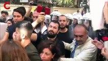 Polis biber gazı sıktı yurttaş isyan etti: Yeter!