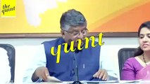 What Slowdown? Joker, War, Sye Raa Earned Rs 120 Cr: Law Minister Ravi Shankar Prasad