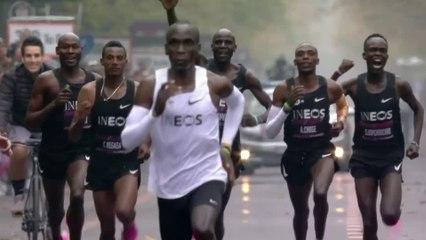 Kipchoge breaks two hour marathon barrier