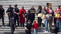 Jane Fonda es detenida por protestar contra el cambio climático