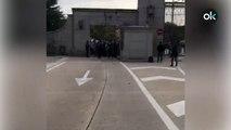 Varias personas intentan acceder al Valle de los Caídos
