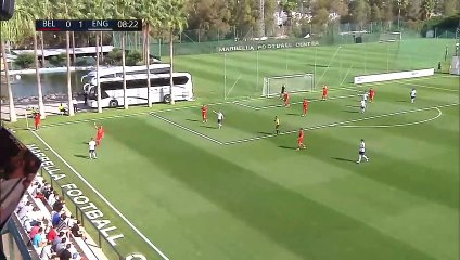 RELIVE: Belgium vs England - International Marbella Cup U19