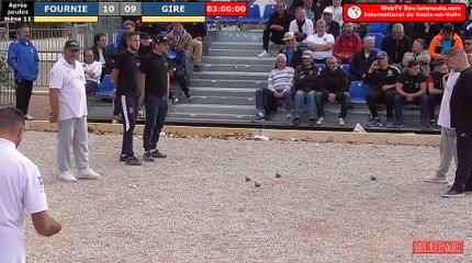 International à pétanque de Vaulx-en-Velin 2019 : Après poules Fournié VS Gire