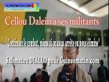 """Cellou Dalein à ses militants : """"Continuez le combat, même si on nous arrête ou nous élimine"""""""