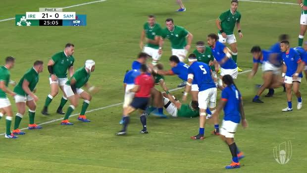 Ireland reach World Cup quarter-finals