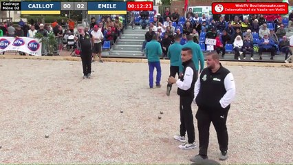 International à pétanque de Vaulx-en-Velin 2019 : Cadrage CAILLOT vs EMILE
