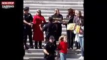 Jane Fonda arrêtée et menottée à Washington (vidéo)