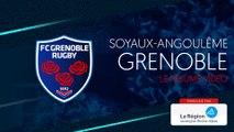 Soyaux-Angoulême - Grenoble : le résumé vidéo