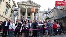 """VIDEO. Poitiers : inauguration de l'évènement culturel """"Traversées """""""