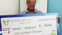 'Lightning Strikes Twice': Man Scores Two Big Lottery Wins Within Months