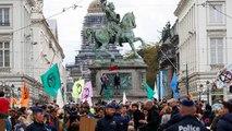 Activistas climáticos piden al rey Felipe de Bélgica decretar el estado de emergencia climática
