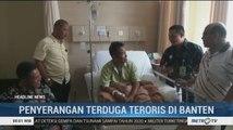 Wali Kota Serang Jenguk Kapolsek Menes Korban Penusukan