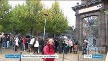 Puy-de-Dôme : marche blanche après le suicide d'un professeur