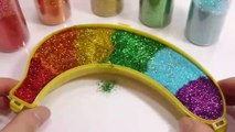 Mixing Slime Clay Mix Glitter Learn Colors Surprise Eggs Toys For Kids