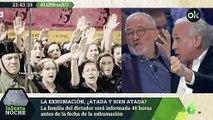 Eduardo Inda sobre la exhumación de Franco