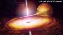 تفاصيل جديدة عن إشعاع ثقب أسود يبعد 10 آلاف سنة ضوئية عن الأرض