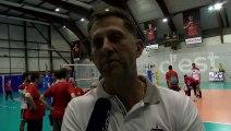 Dario Dukic coach de Saint-Quentin après la défaite à Martigues