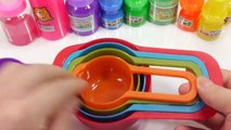 Mixing Slime Spoon Learn Colors Combine Mix Surprise Eggs Toys For Kids
